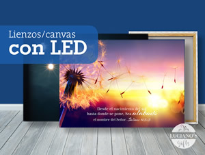Lienzos con LED