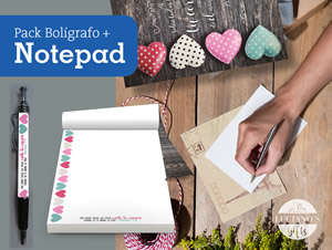 Pack Notepad + bolígrafo