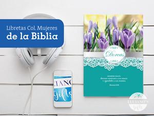 Libretas colección Mujeres de la Biblia