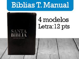 Biblias Tamaño Manual