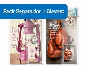 Pack Separador + Llavero