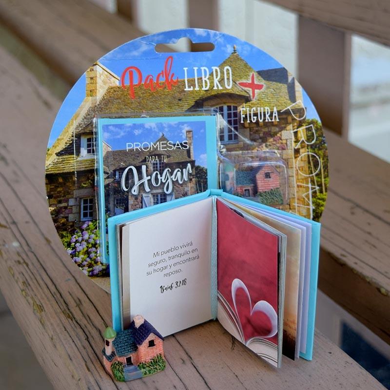 Pack Promesas para tu hogar (Libro + Figura)