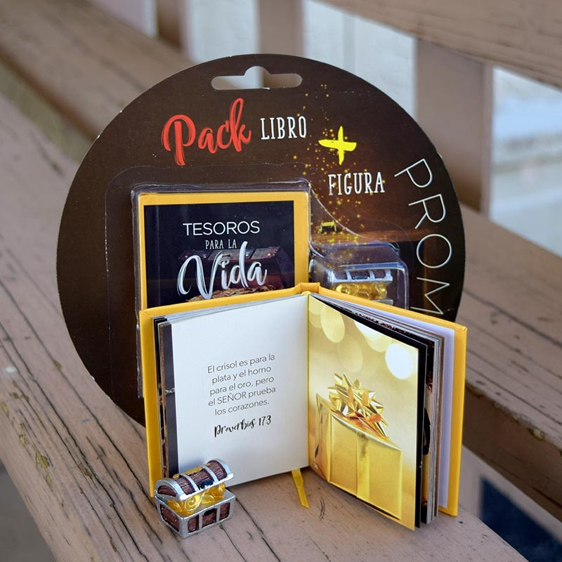 Pack Tesoros para la Vida (Libro + Figura)