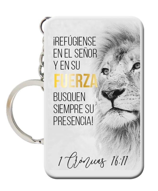 Llavero Fuerza 1 Crónicas 16::11