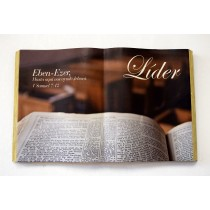 "Cuadro ""Ebenezer Líder"" 1 Samuel 7:12 Colección Ministerial"