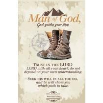 Ceramic Plaque Boots Prov. 3:5-6