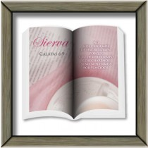 Cuadro Sierva Gálatas 6:9 Colección Ministerial
