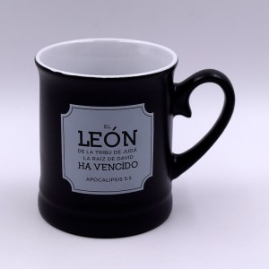 Taza León (Apocalipsis 5:5) Valentía