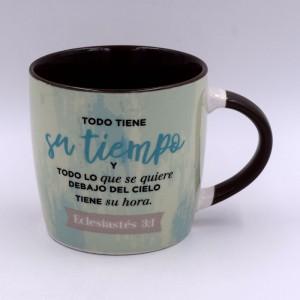 Taza Su Tiempo (Eclesiastés 3:1) Vintage