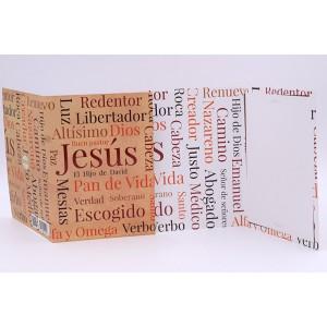 Tarjeta Nombres de Jesús