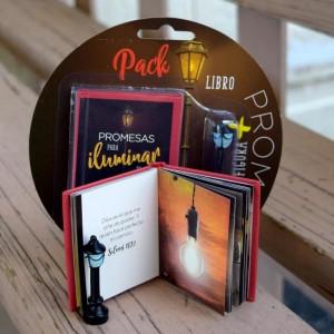 Pack Promesas para iluminar tu vida (Libro + Figura)
