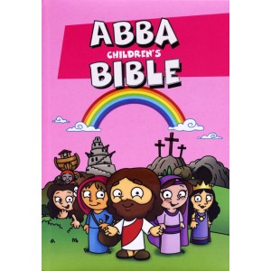 Abba Children's Bible Pink