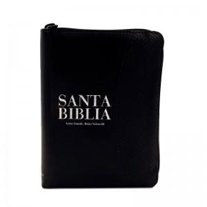 Biblia de bolsillo RVR 1960 Bicolor Negro