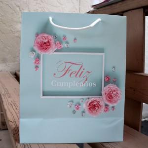 Bolsa Feliz Cumpleaños Rosa (L)
