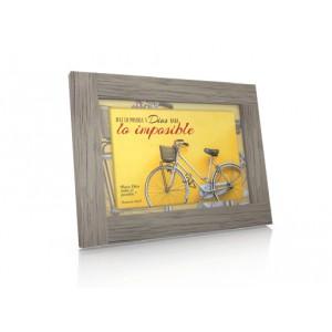 Cuadro Bicicleta Marcos 10:27 Colección Elegance
