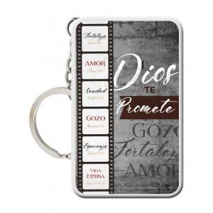 Llavero Dios Te Promete