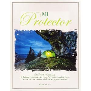 Cuadro Mi Protector - Colección Línea Blanca