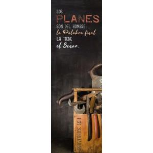 """Separador """"Planes"""" (Proverbios 16:1)"""