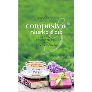 Cuadro Compasivo 2ª Cronicas 30:9b Small Glass