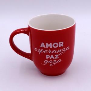 """Taza """"Paz"""" (Isaías 9:6) Colección Navidad"""