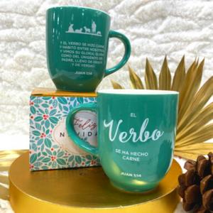 """Taza """"Verbo"""" Colección Navidad"""