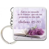 Llavero Consuelo Salmos 119:50